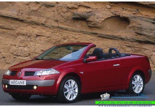 Dezmembrez Renault Megane 2004 cabrio