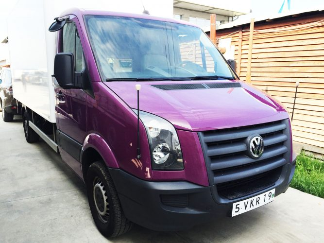 Vand VW Crafter 2.5 2011