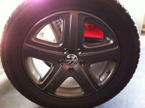 VW TOUAREG 295 45 19