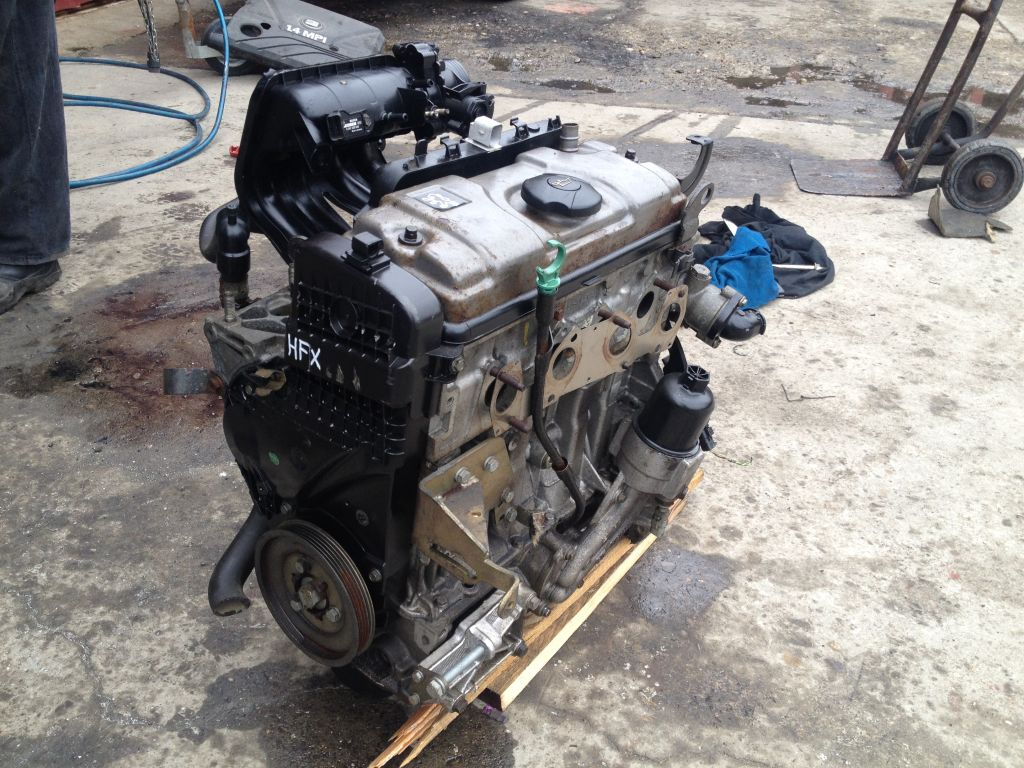 MOTOR PEUGEOT 206 1.1 HFX